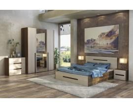 Спальный гарнитур Ребекка со шкафом и комодом