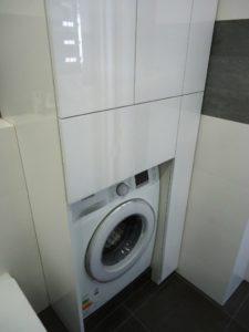 Мебель для ванной со встроенной стиральной машинкой