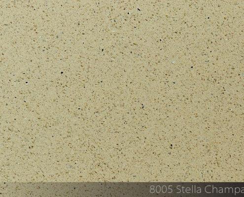 Кварцевый камень 8005 Stella Champagne
