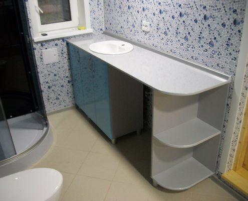 Тумбачка под раковину в ванную комнату, изготовленная на заказ