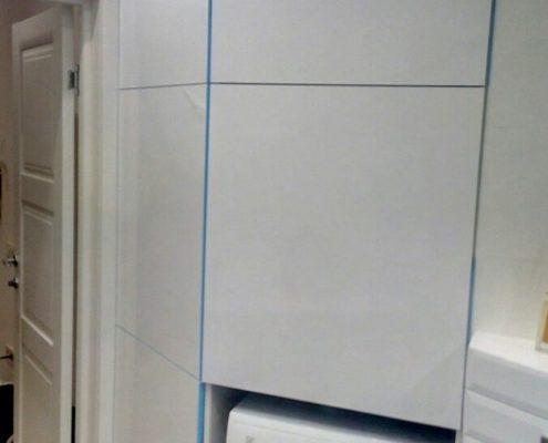 Шкаф для ванной комнаты на заказ
