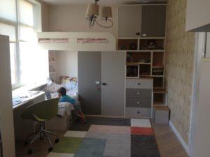 Мебель для детской комнаты, изготовленная на заказ