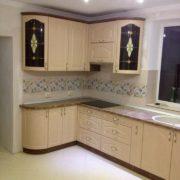Угловая кухня из массива 3