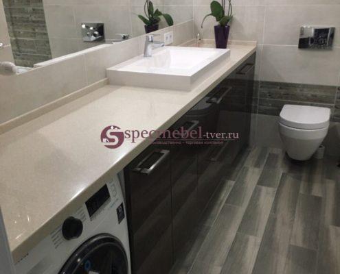 Мебель для узкой ванной комнаты на заказ