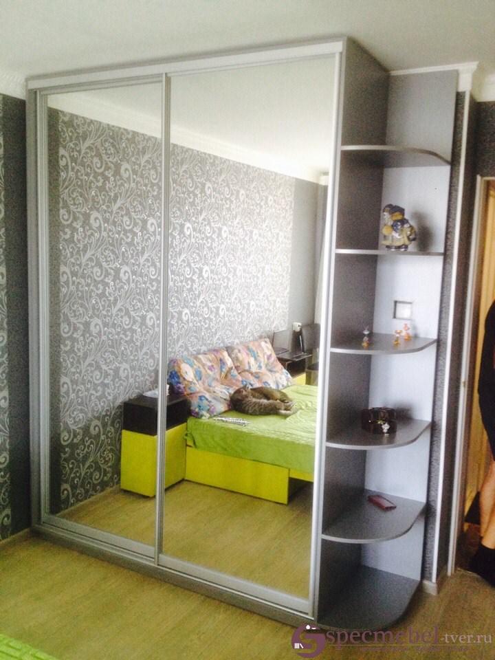Шкаф-купе с зеркалами на заказ