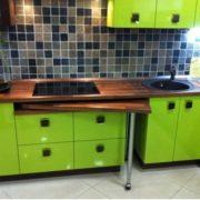 Выдвижной столик для кухни 2