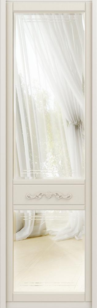 Зеркальная дверь с фацетом классического шкафа-купе AVIGNON